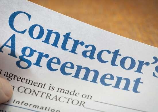 Contractor   agreement