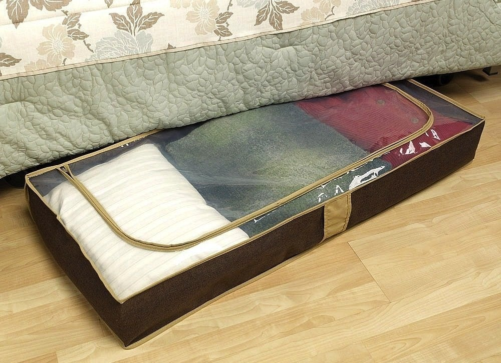 Allergy-proof-home-under-bed-storage