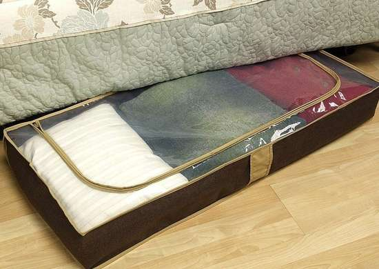 Allergy proof home under bed storage