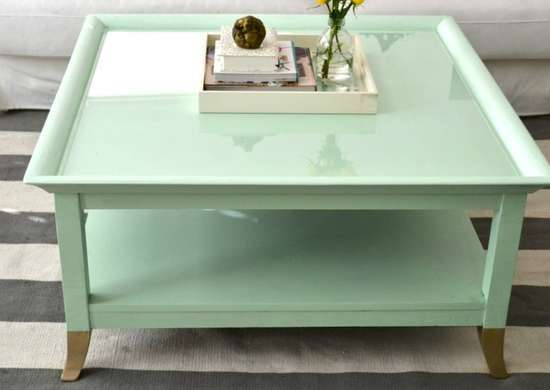 Painted furniture   coffee table