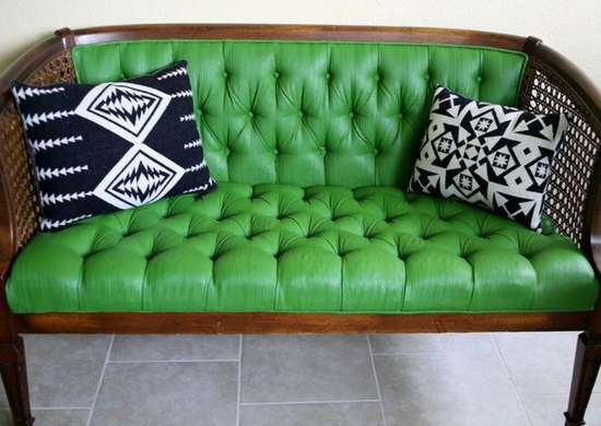 Painted furniture   couch