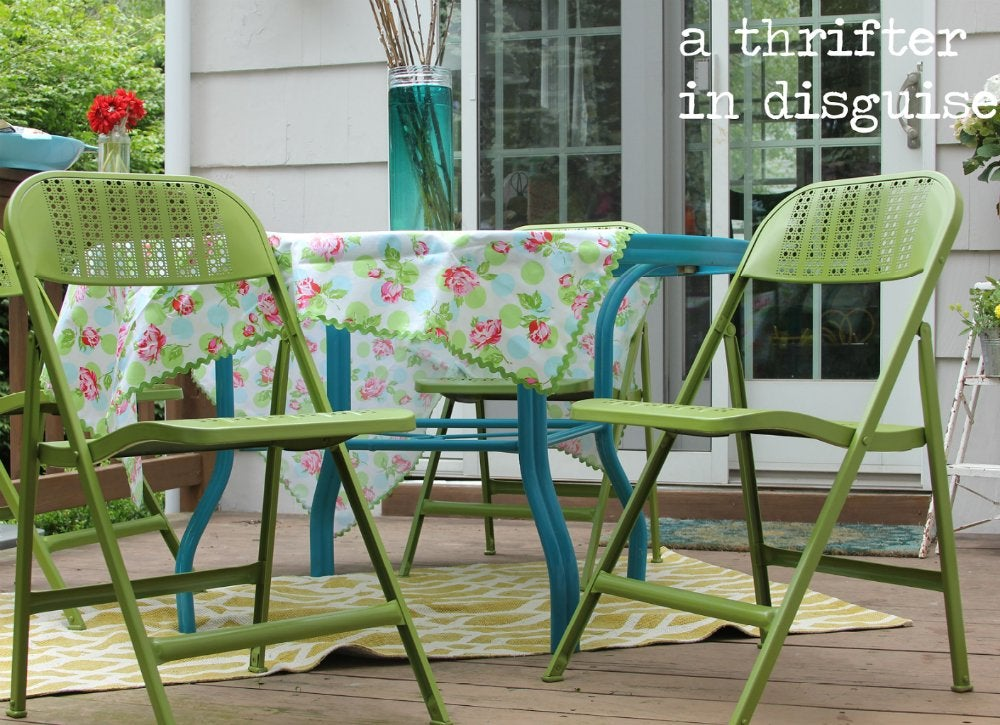 Painted furniture   chairs