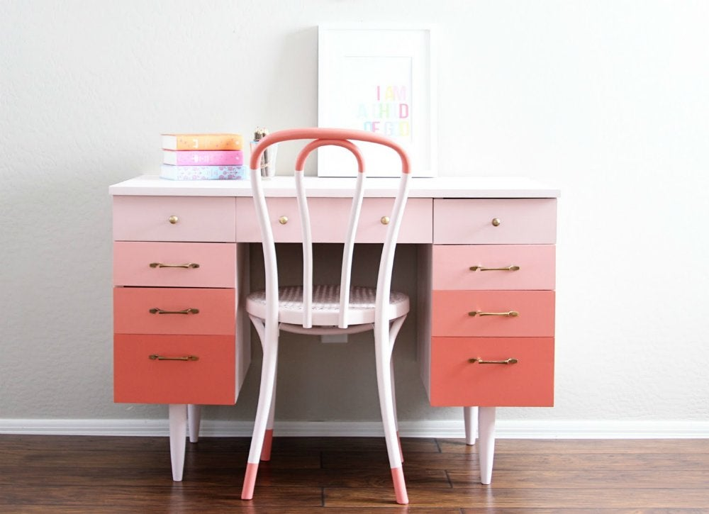 Delicieux Why Choose A Single Color When You Can Have A Full Palette? From Pale To  Deep, A Range Of Pretty Pink Benjamin Moore Paints Embellish The Drawers Of  A ...