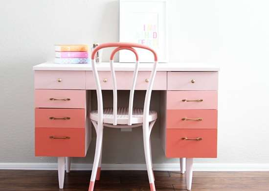 Painted furniture   desk1