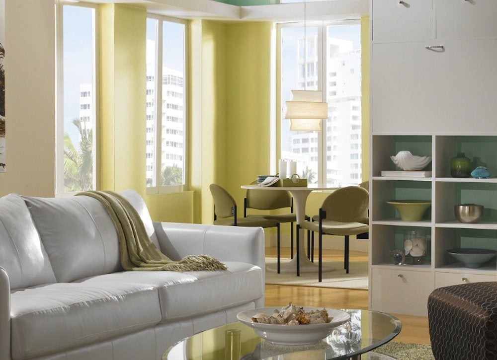 Pastel bright room