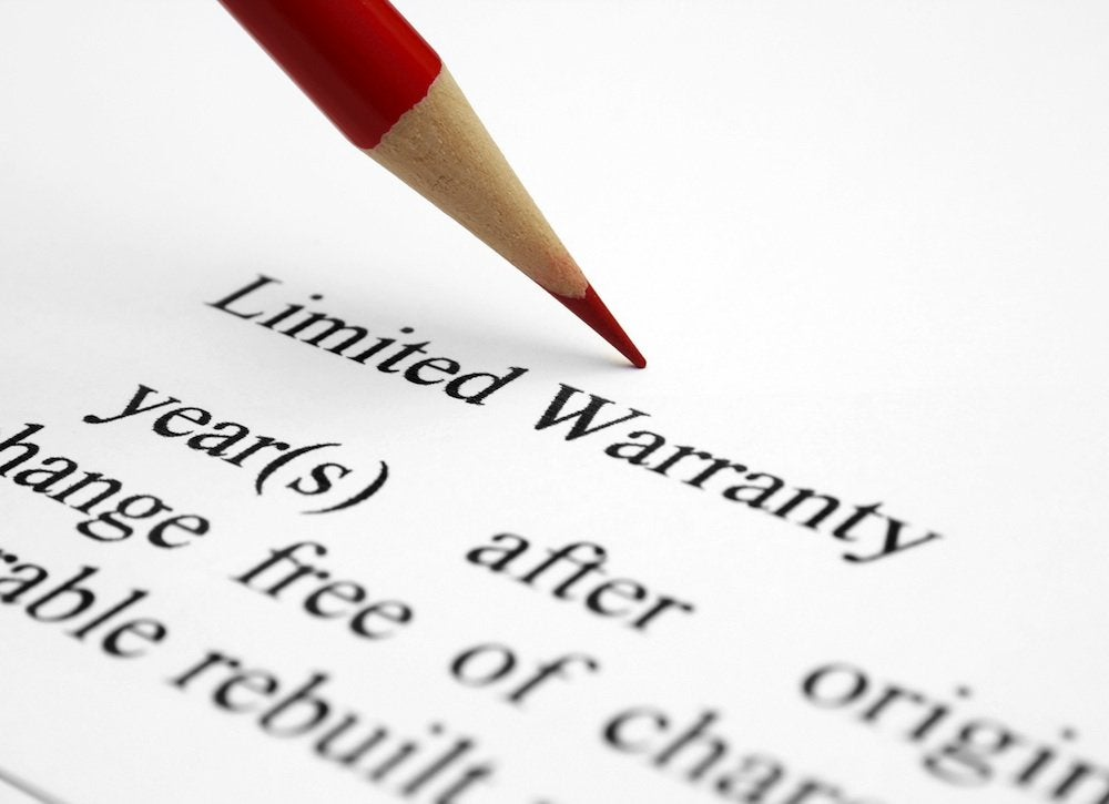 When to replace roof   warranty