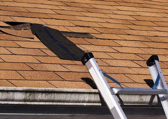 Replace roof   missing shingles