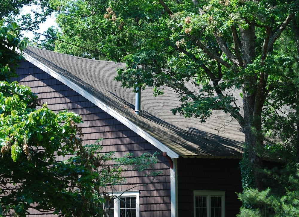 When to replace roof   sagging roof