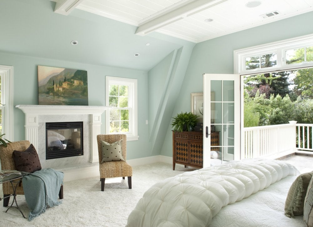Pastels bluebedroom