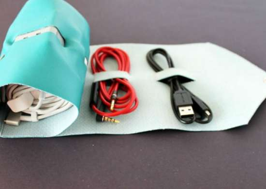 Declutter diy   cord management