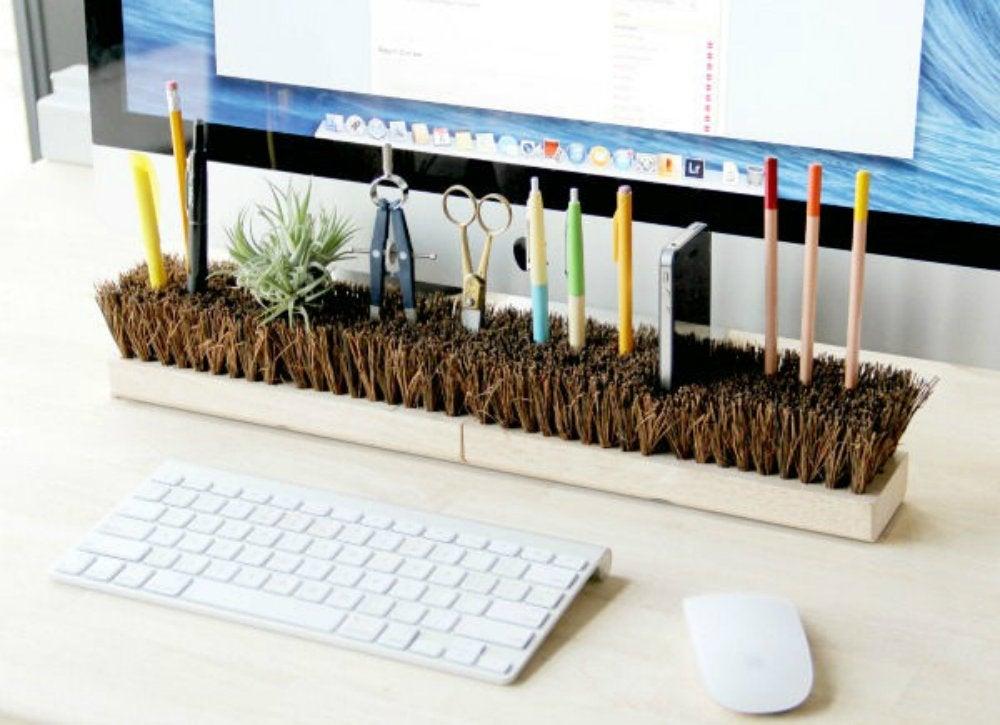 Declutter diy   desk organizer