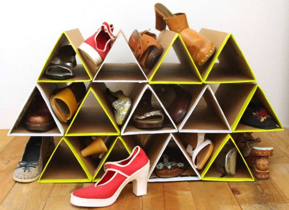 Declutter diy   shoe rack