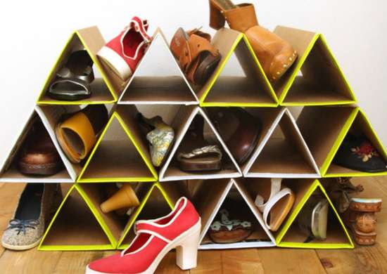Declutter diy   shoe rack