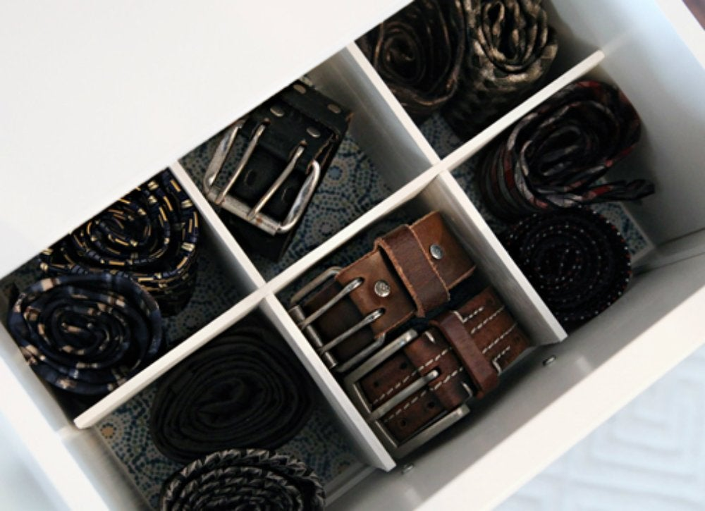 Declutter diy   drawer divider