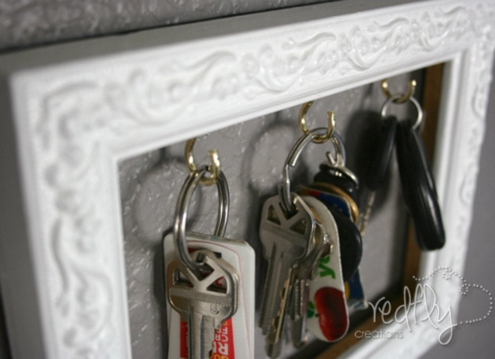 Declutter diy   key holder