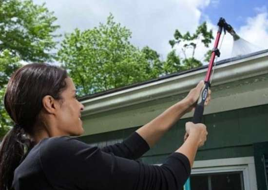 Home exterior cleaning   gutters