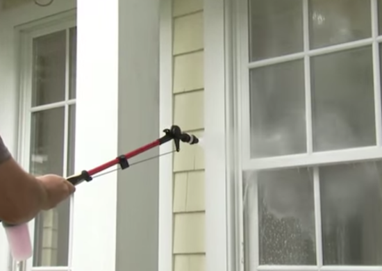 Clean home exterior   window washing