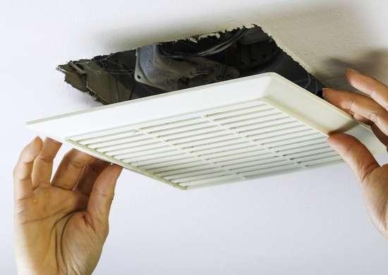 Bathroom renovation mistakes   exhaust fan