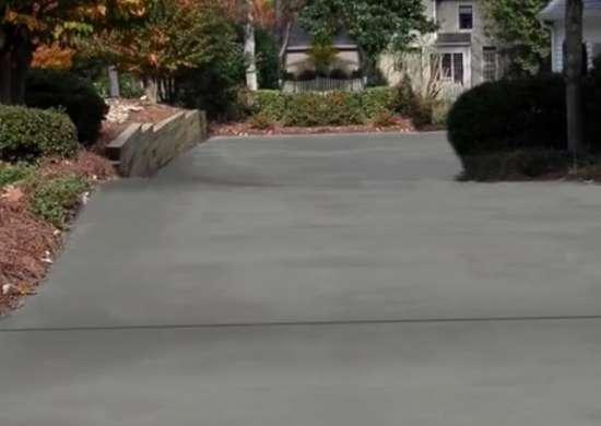 Diy concrete driveway resurfacing