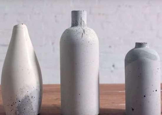 Concrete vases 2