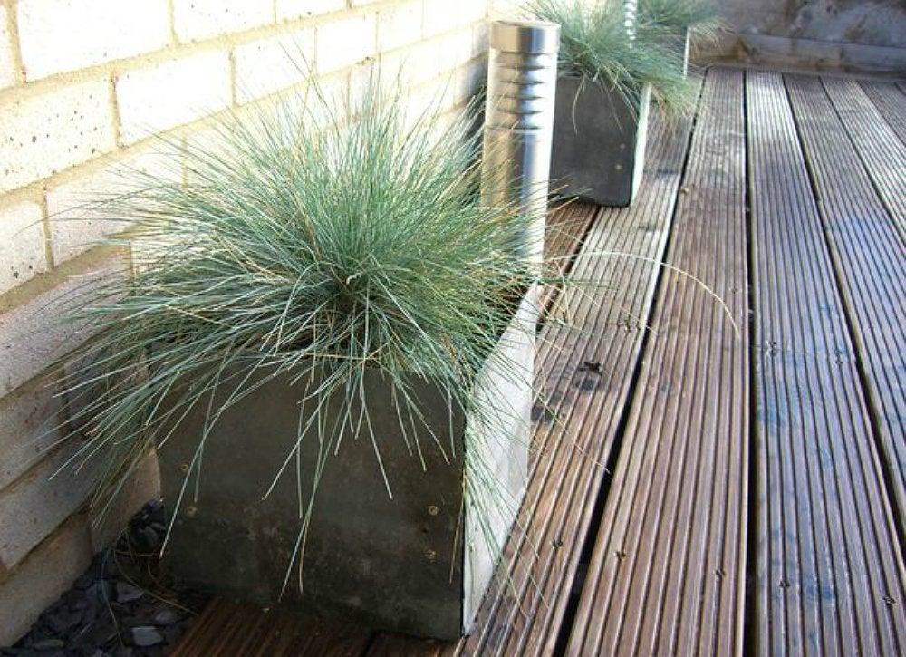 Slate planters