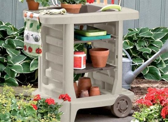Suncast garden tool center
