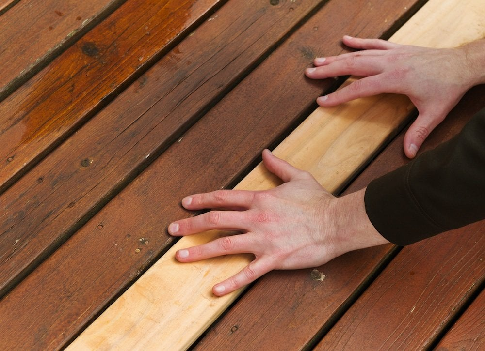 Replace deck boards