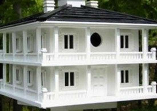 Yardenvy club house birdhouse