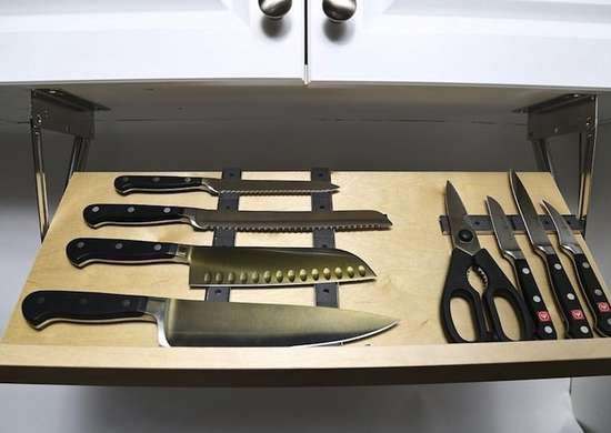 Drop Down Knife Block Knife Storage 12 Buy Or Diy: diy under counter storage