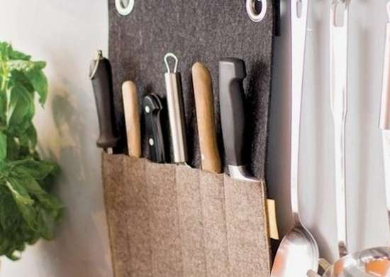 Felt Knife Holder