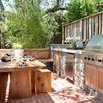 Natural Elements in Outdoor Kitchen