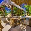Tropical Outdoor Kitchen