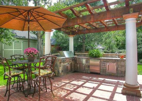 Pergola Outdoor Kitchen Part 59