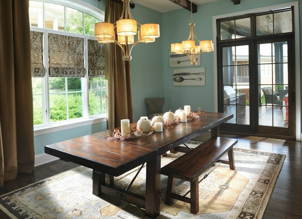 Blue dining room color mistakes