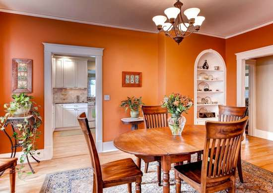 Orange dining room color mistakes