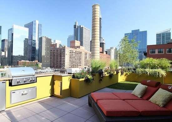 Rooftop Outdoor Kitchen