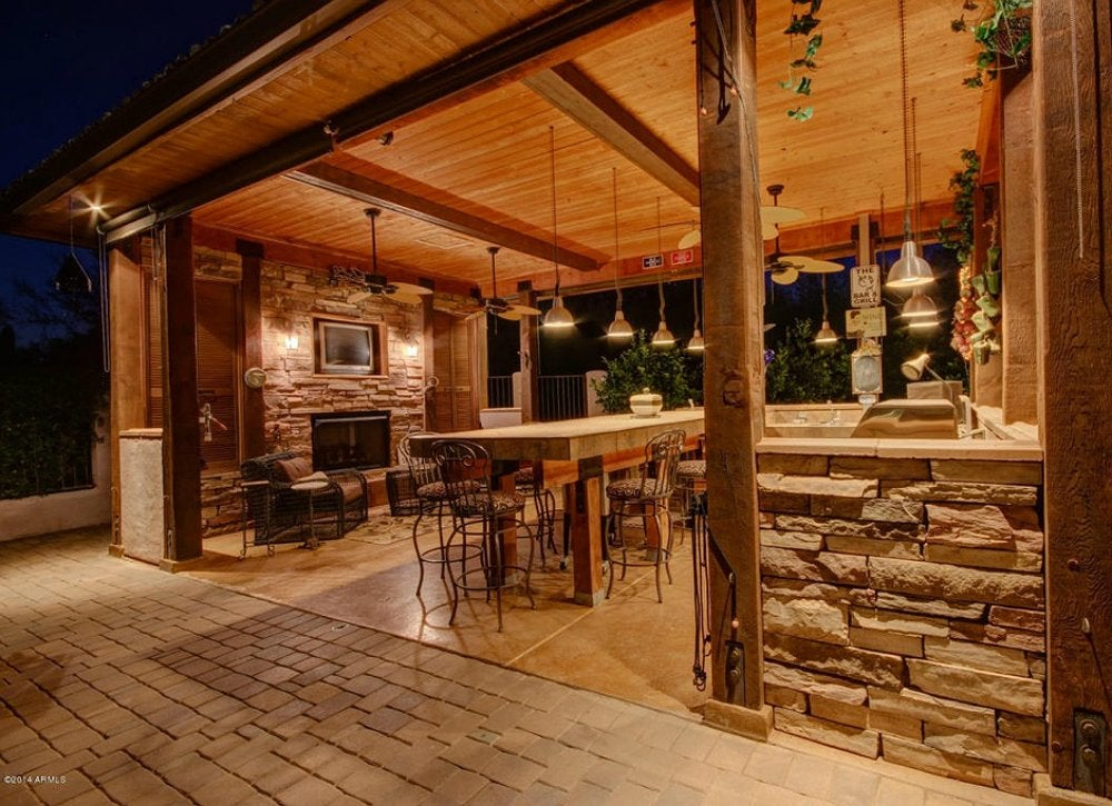 Outdoor kitchen ideas 10 designs to copy bob vila for Porch rooms