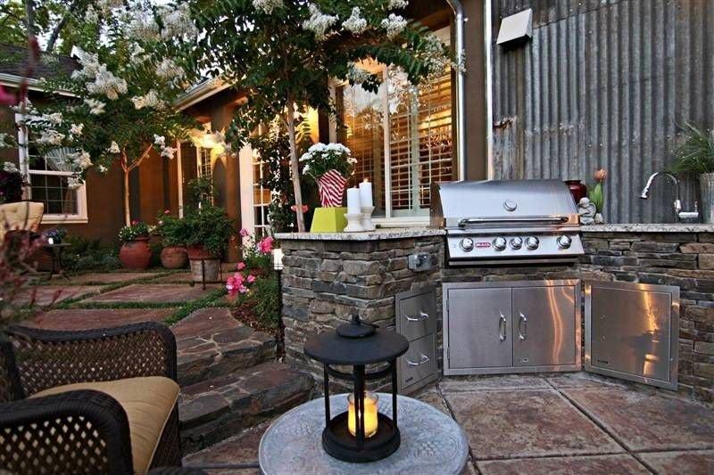 amusing outdoor kitchen designs | Outdoor Kitchens - Outdoor Kitchen Ideas - 10 Designs to ...