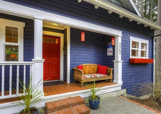 Blue House - Exterior House Paint Colors - 7 No-Fail Ideas - Bob Vila