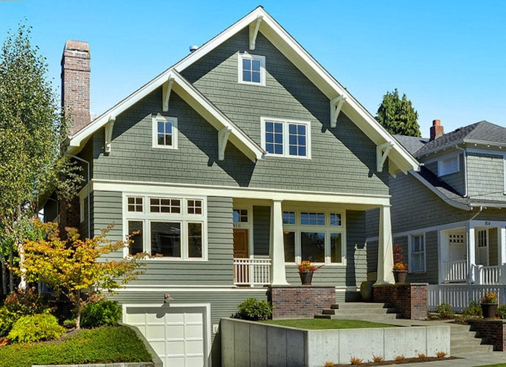 Green house exterior house paint colors 7 no fail ideas bob vila - Home exterior paint ...