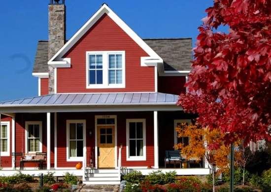 Red House - Exterior House Paint Colors - 7 No-Fail Ideas - Bob Vila