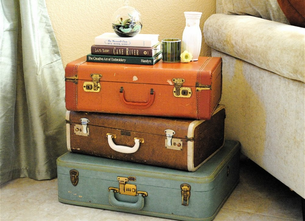 Storage   suitcase