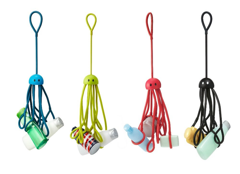 Shower squid handy organizer