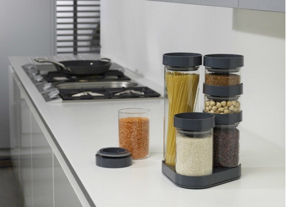 Foodstore canister carousel handy organizers