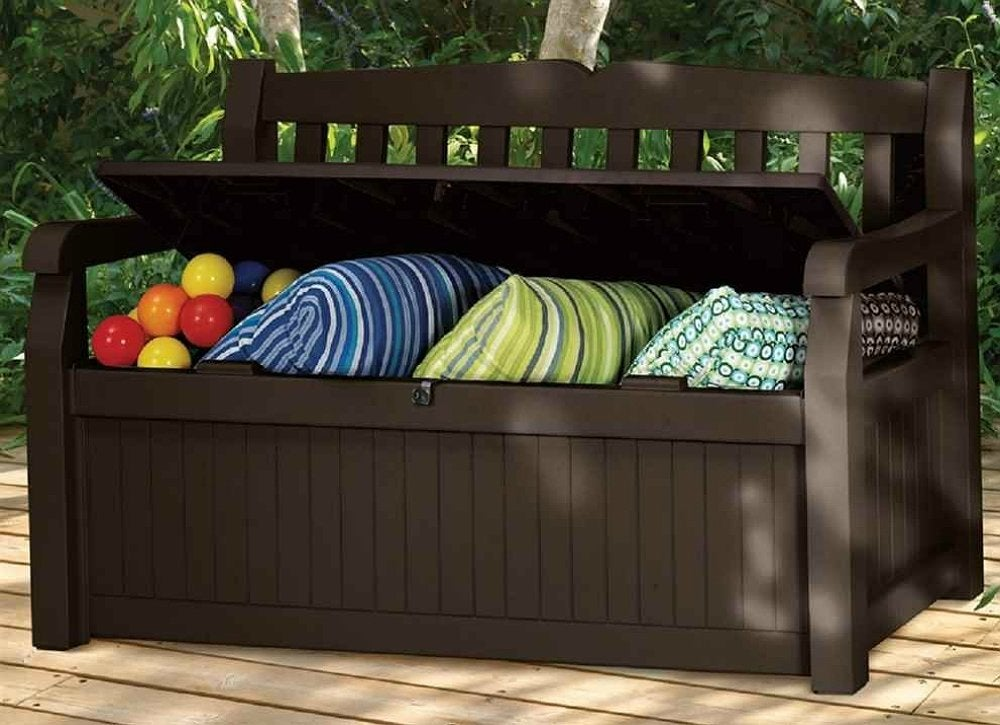Patio Storage Bench Small Patio Furniture 9 Double