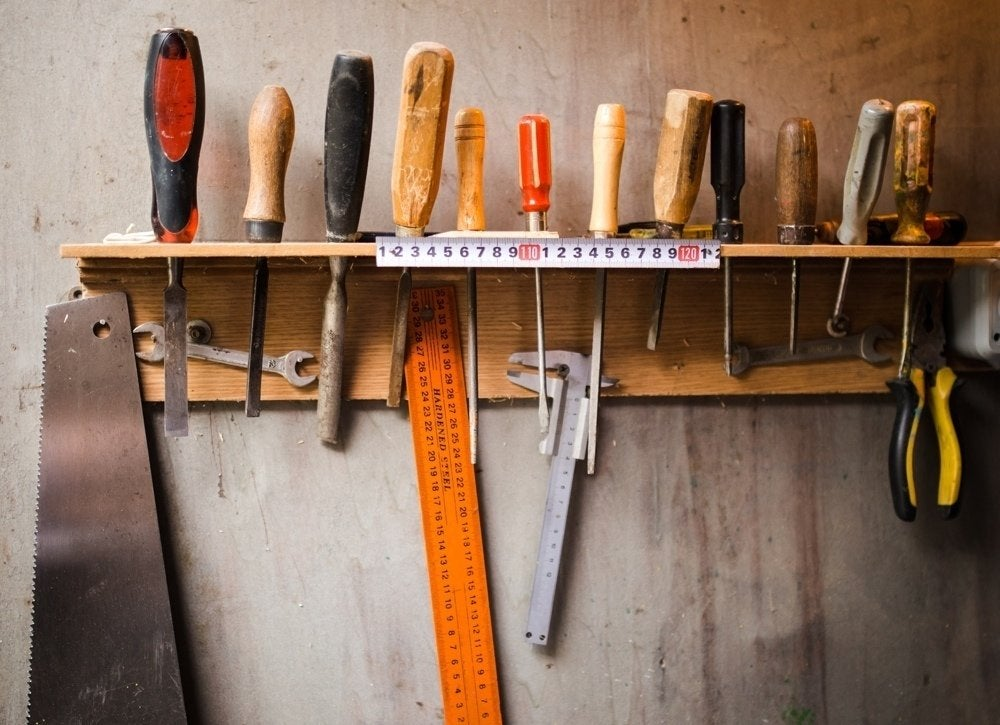 Garage-tool-organization