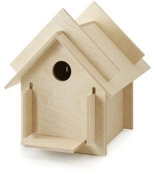 Uncommongoods box for the birds birdhouse kit