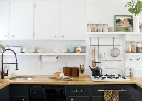 Kitchen Cabinets Different Colors Top Bottom : Kitchen decorating ideas tips from real people bob vila
