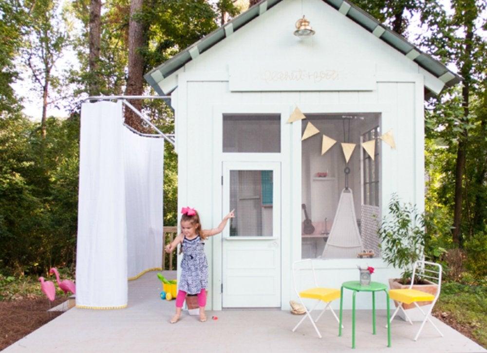 Diy backyard shed