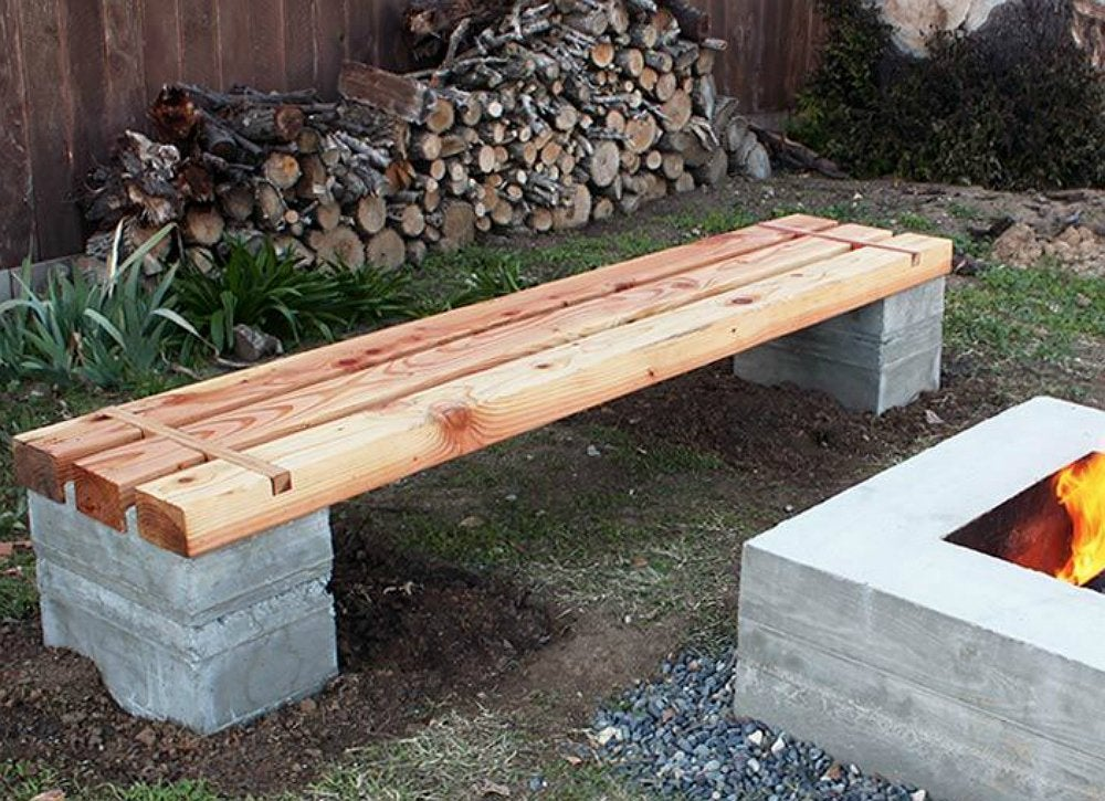 Diy Bench Diy Wood Projects 10 Easy Backyard Ideas
